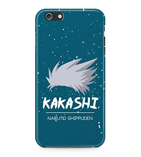 Naruto Shippuden Kakashi Hatake Minimal Hard Plastic Snap On Back Case Cover For iPhone 6 / 6s Custodia
