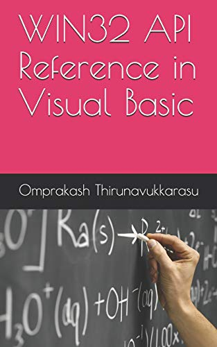 WIN32 API Reference in Visual Basic