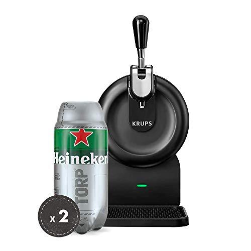 Pack Heineken THE SUB | Tirador de cerveza de barril THE SUB Compact Edition + 2 TORP Heineken barril de cerveza de 2 litros