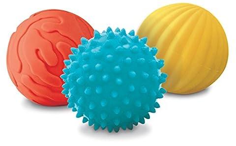 Ludi - 30008 - 3 Balles Sensorielles - Lapin