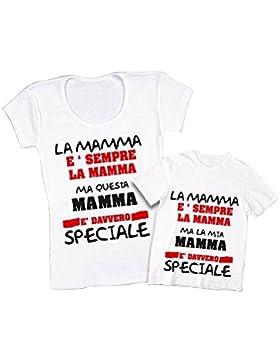 Altra Marca Coppia di T-Shirt Personalizzate per Madre e Figlio Magliette per la Festa della Mamma Una Madre Speciale