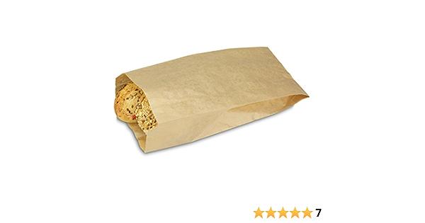 Bäckerbeutel Brötchentüte Brotbeutel Faltenbeutel Bäckertüten Braun 3000 Stück