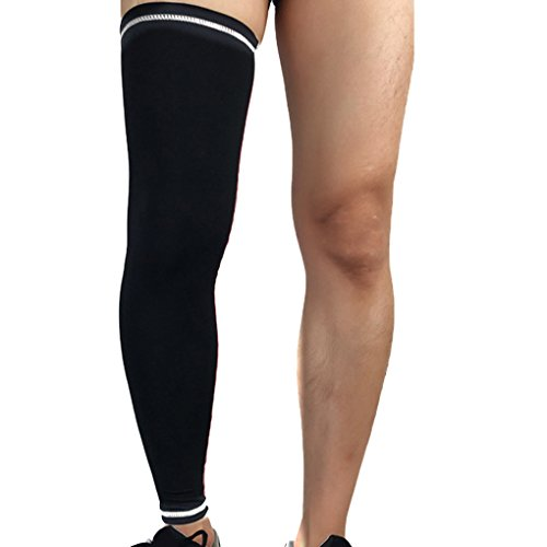 Luckiests Recovery Compression Beinlinge Radsport Strech Bein Knieschützer Stocking -