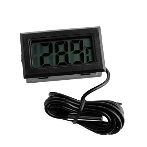 Watermk LCD Display Digital Thermometer Sensor für Kühlschrank/Aquarium/Aquarium 3/6/10 / 16FT -