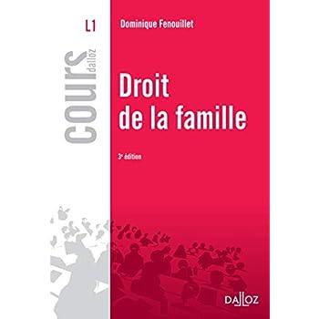 Droit de la famille - 3e éd.