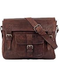 Bandoulière en cuir sac bandoulière sacoche sac college unitasche