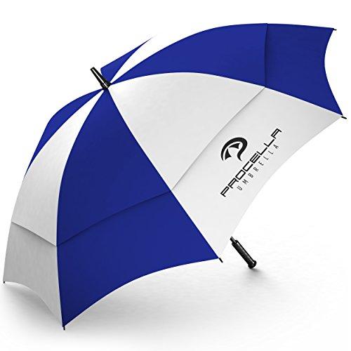 Procella Parapluie de golf Umbrella - 157,5cm - Structure renforcée - Voûte double - Résistance...