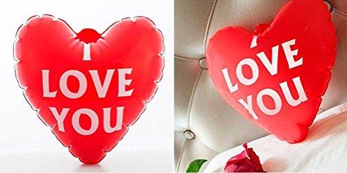 Aufblasbares Herz I love you Valentine Gift Cute Muttertag Hochzeitstag Jahrestag Geburtstag Party Dekoration