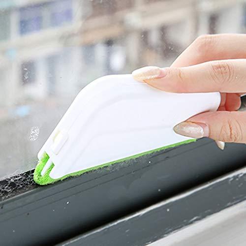 BESTEU Ventana Puerta corredera Carril de Limpieza Cepillo de Limpieza Blind Duster Windowsill Ranura Crevice Sweeper Groove Gap