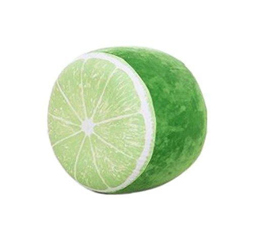 Mode Fruit Plüsch aufblasbare Hocker tragbare Falten, nette Zitrone