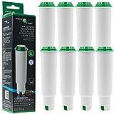 8x FilterLogic CFL-701B ersetzen Krups F088 Claris Aqua Filter / Melitta Pro Aqua Wasserfilter / Nivona NIRF-700 Filterpatrone für Kaffeevollautomat