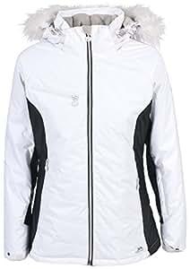 Trespass Shera Veste de ski pour femme Blanc blanc xx-large