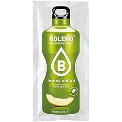 Paquete de 12 sobres bebida Bolero sabor Melón con Stevia