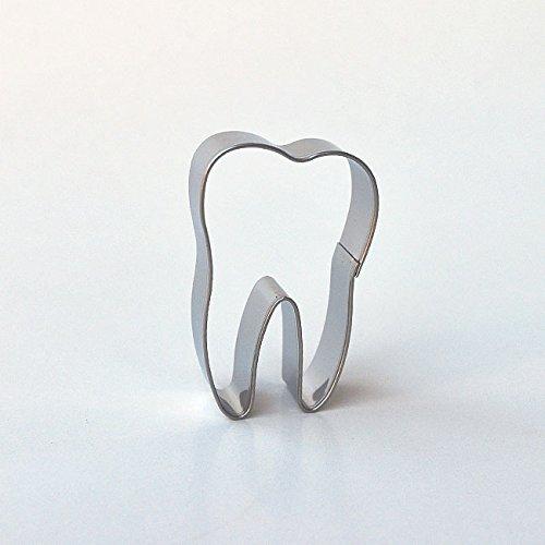 Ausstecher/ Ausstechform Zahn 5,5 cm aus Edelstahl