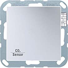 Jung knx - Sensor knx aire/co2 con bcu as500 aluminio