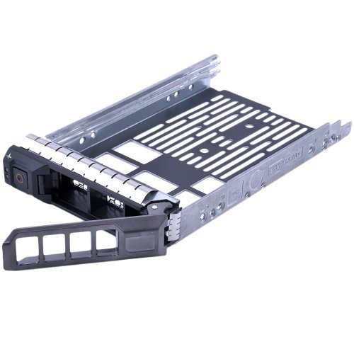 Dell SAS disco duro SATA 8,89 cm bandeja con tornillos de montaje para Dell Original 8,89 cm F238F 0G302D G302D 0F238F 0X968D X968D SAS/SATAu, Dell de comienzo R610, R710, T610, T710