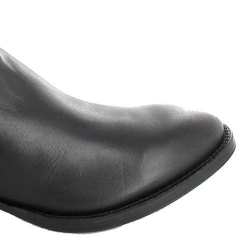 Tony Mora Westernstiefel 1257 Classic Boots (in verschiedenen Farben) Schwarz