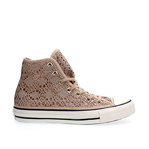 CONVERSE 556772C CT AS HI LIGHT GOLD SNEAKERS Femme gold