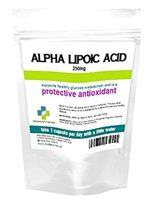 Alpha Lipoic Acid 250mg 90 Capsules