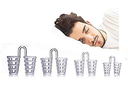 Helet Stop Snoring, anti russamento soluzione Advanced nose Vents Snore stopper dispositivo con efficacia arresta russare, heavy respirazione, sleep apnea.(prese d' aria in 4diverse misure)