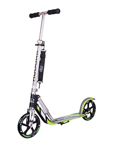 Big Wheel Scooter 205 - Das Original, Tret-Roller klappbar - City-Scooter - 14695, schwarz/grün