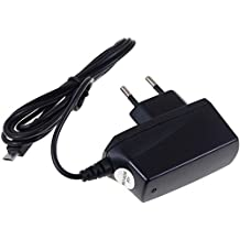 Powery Cargador con Micro-USB 1A para Motorola Hint QA30