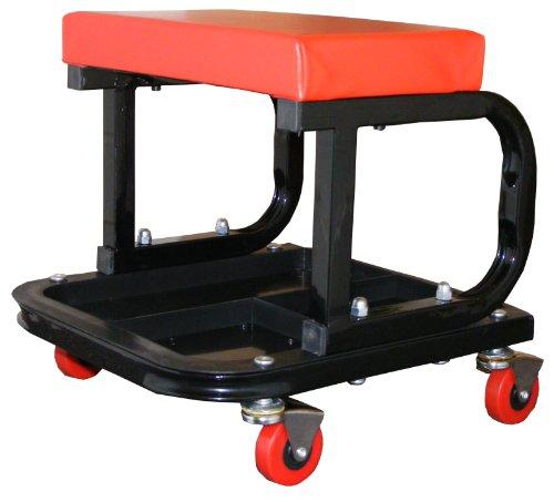 Sac pro-trade Heavy Duty - Seduta da meccanico auto, molto robusta, con vassoio per attrezzi