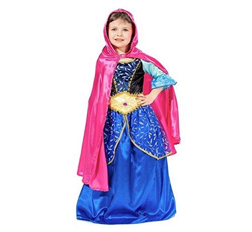 Prinzessin Anna Kinderkostüm 3-4 ()