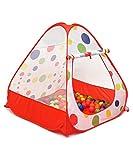 La bellissima casetta da gioco per bimbi di LittleTom è composta da una tenda per bambini . Il perfetto, piccolo rifugio da montare nella cameretta dei bambini o in giardino, garantirà puro divertimento per tutti!  Le nostre tende giocattolo ...