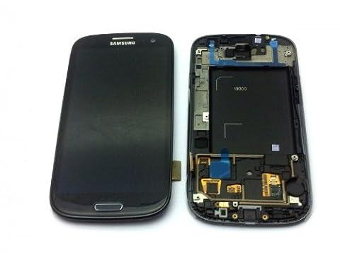 Display für Samsung Galaxy S3 (i9300) Touchscreen, LCD + Rahmen in schwarz (Galaxy S3 Display Kaufen)