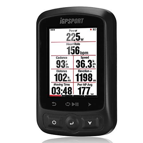 iGPSPORT Ciclo-computadora GPS Bicicleta Wireless Impermeable IPX7 iGS618 Pantalla 2.2´´ GLONASS/BeiDou Ordenador...