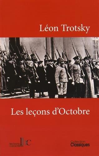 Les leçons d'Octobre par Léon Trotsky