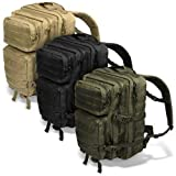 Black Snake US Assault Pack II Damen und Herren Rucksack Outdoor Backpack