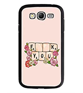 PrintDhaba Quote D-2274 Back Case Cover for SAMSUNG GALAXY GRAND NEO (Multi-Coloured)