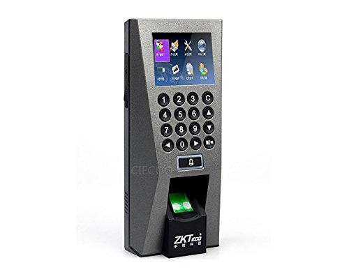 Ciecoo Biometrisches Gebäude-Management-System Tür-Zugriffskontrolle ZK F18 Fingerabdruck-Scanner Zutrittskontrolle Zeiterfassung Türschlösser TCP / IP Tool RF Reader Alarmsysteme