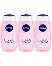Nivea Waterlily and Oil Shower Gel, 250ml (Pack of 3)