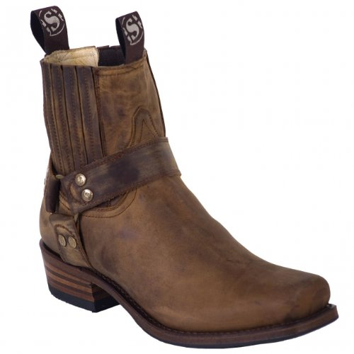 Sendra Boots 8286MO braun Gr. 45 * incl. original Mosquito ® Stiefelknecht *