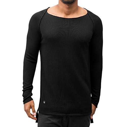 Red Bridge Homme Hauts / Pullover Raglan Noir