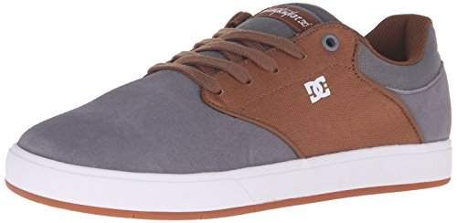 dc-mens-mikey-taylor-low-top-scarpe-multicolore-charcoal-white-42