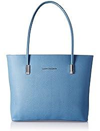 Lino Perros Women's Handbag (Blue) - B076H7TS5B