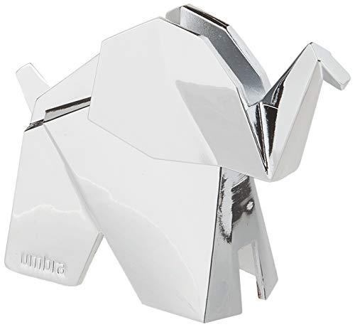 Umbra Origami Elefanten Ringhalter - Moderne Ringablage, Ideales Gastgeschenk, Beschichtetes Metall / Chrom