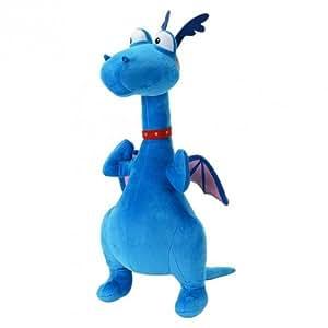 Docteur la peluche toufy le dragon bleu peluche doc mcstuffins 20cm jeux et jouets - Toufy docteur la peluche ...