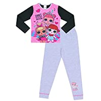 LOL Surprise Dolls Girls Pyjamas L.O.L Pink and Grey 6 to 12 Years