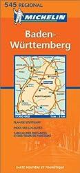 Carte routière : Baden-Württemberg, N° 11545 (en allemand)