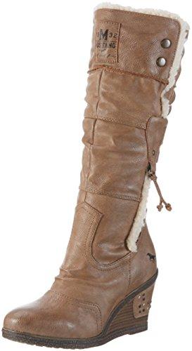 Mustang Damen 1083-601 Langschaft Stiefel, Braun (33 Natur), 40 EU