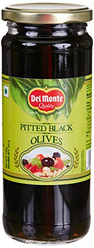 Delmonte Black Pitted Olives, 450g
