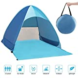 Zenoplige Pop Up Tent, UV Lightweight Waterproof Foldable Outdoor Beach Camping Tent as