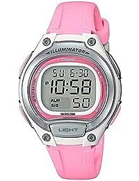25d498f48d2a Reloj Casio Rosa sumergible para niñas LW-203-4A
