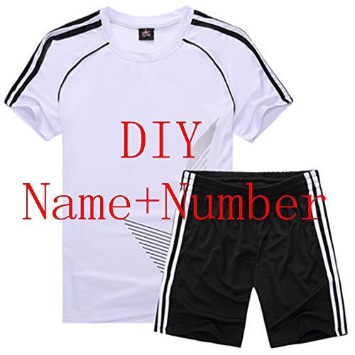 Maglia da calcio costumi sportivi da abbigliamento per bambini kit da calcio per ragazze ragazzi completi uniformi abiti estivi per bambini ragazzi abbigliamento,personalizzato,bambino l