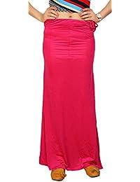 Carrel Lycra fabric Women Solid Petticoat (AGSPL-3157-VRY-PC-02-DARKPINK-L)